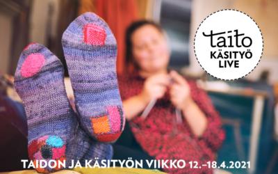 Ajankohtaista: Taidon ja käsityön viikon Parsintaklubit verkossa 12.–18.4.2021 – Taitojärjestö